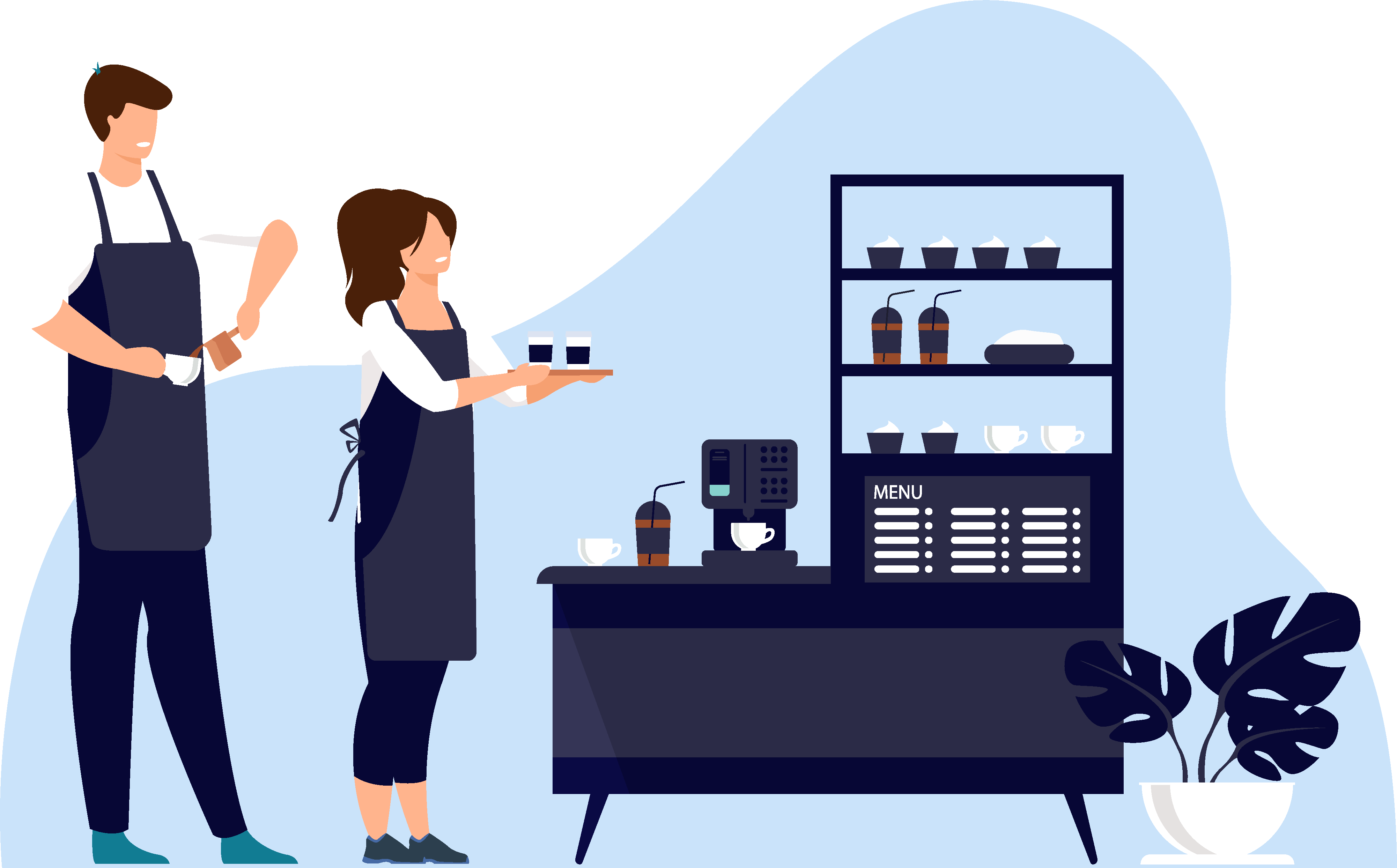 how to make coffee learning center