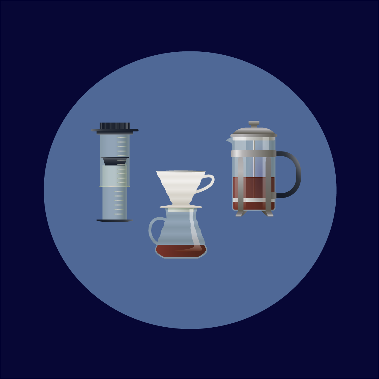 Immersion Coffee Brewing Methods