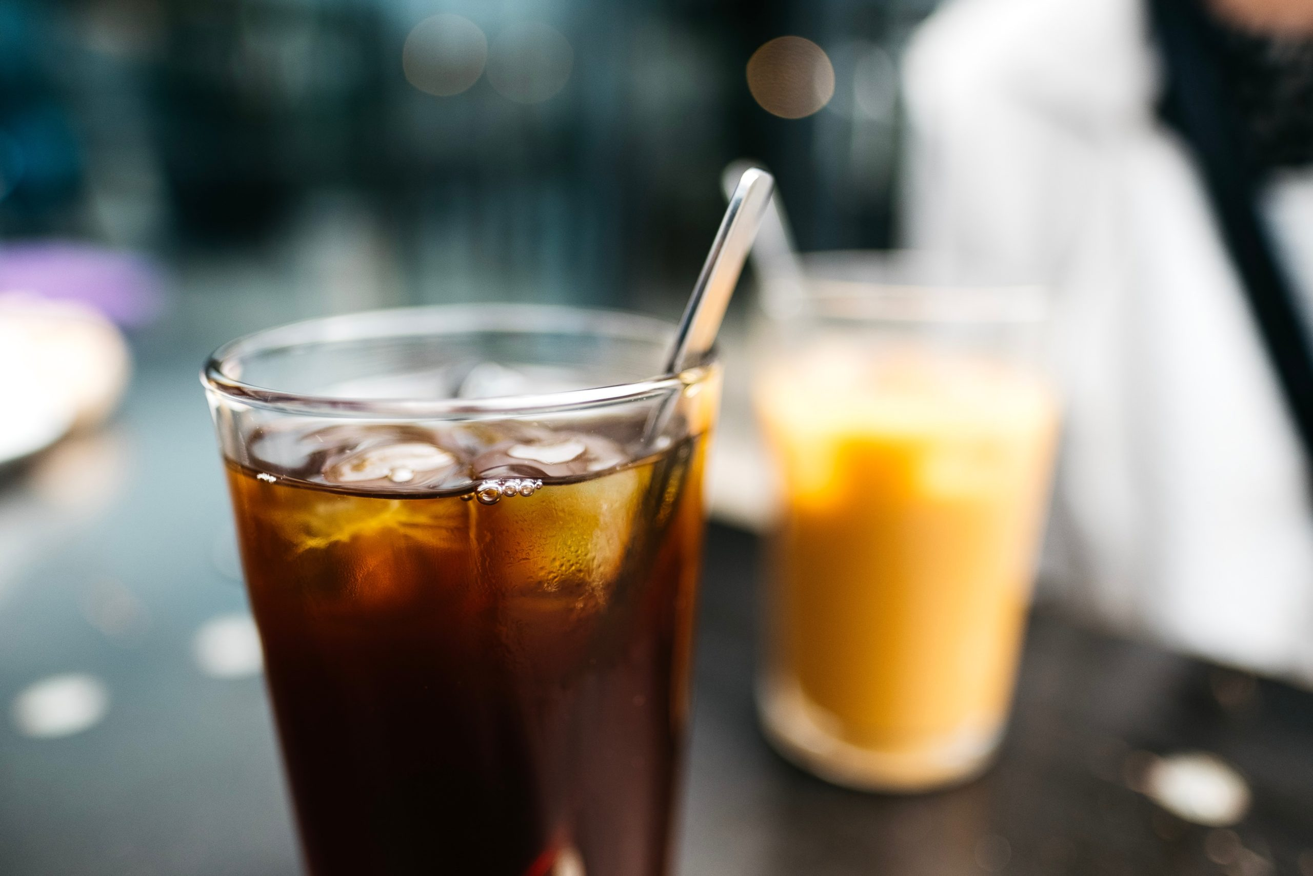 cold brew and iced coffee